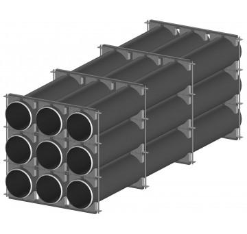 Кассета -ложемент для транспортировки труб